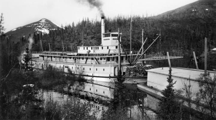 SS Nenana with barg